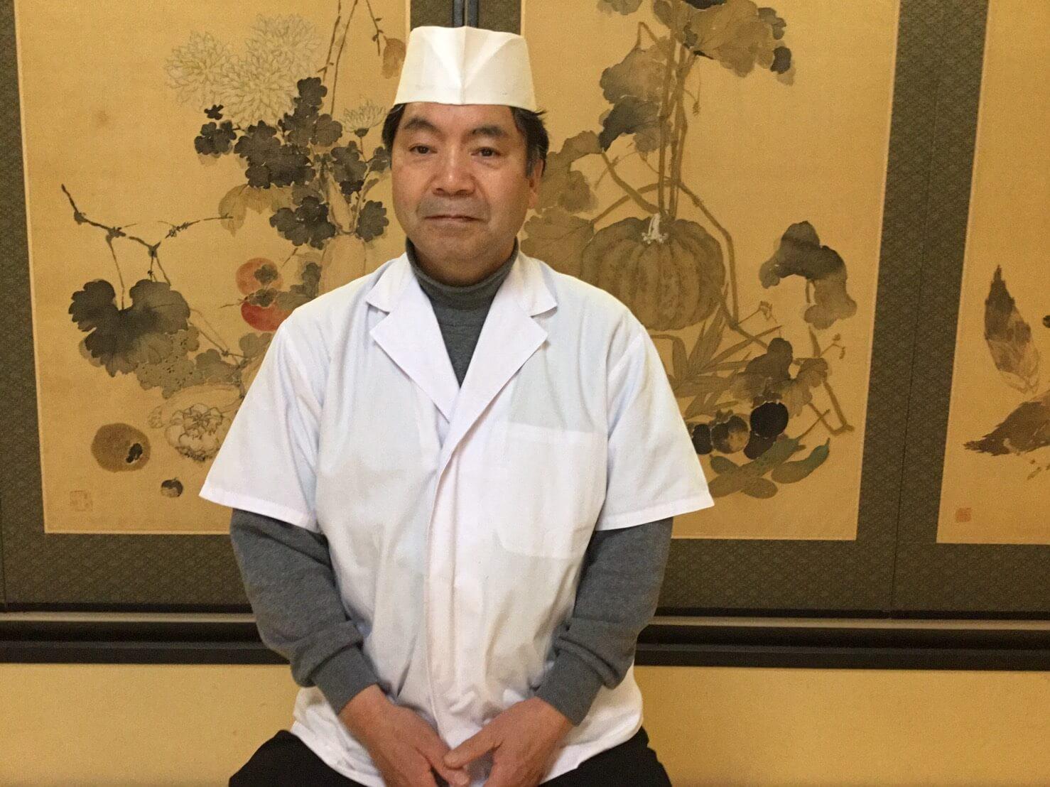 総料理長 横井 秀男